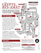 Polyhedral Dungeon: The Crypts of Bes-Amat