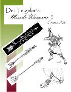 Del Teigeler's Missile Weapons I Stock Art