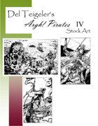 Del Teigeler's Argh! Pirates Stock Art IV
