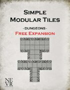 Simple Modular Tiles - Free Expansion for Dungeons