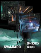 Svalbard - Game Master Screen Inserts