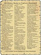 100 History Books to Find on a Bookshelf