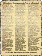 100 Books on Cryptozoology to Find on a Bookshelf