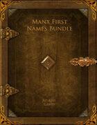 Manx First Names Bundle [BUNDLE]