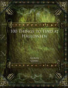 100 Things to Find at Halloween