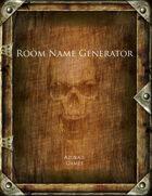 Room Name Generator