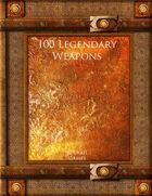 100 Legendary Weapons