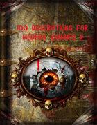 100 Descriptions for Modern Zombies II