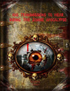 100 Transmissions to Hear During the Zombie Apocalypse