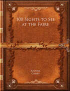 100 Sights to See at the Faire