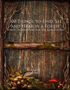 100 Things to Find, See and Hear in a Forest (Lore 100)