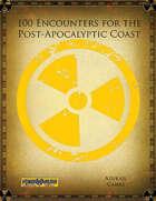 100 Encounters for the Post-Apocalyptic Coast (Mutant Future)