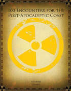 100 Encounters for the Post-Apocalyptic Coast