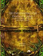 100 Encounters for Fantasy Plains (Lore 100)