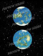 Planetary Cartography - Earthlike World 001