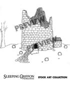 Ruined Tower Clipart
