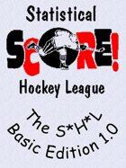 The Statistical Hockey League - Basic Edition 1.0