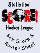 The SHL - Box Score / Roster Sheet