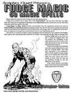 Fudge Magic: 50 Magic Spells