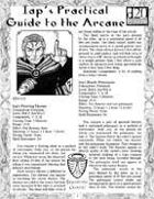 Iap's Practical Guide to the Arcane #1
