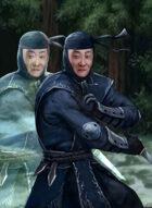 Thunderegg Stock Art: Black Ninja Warrior