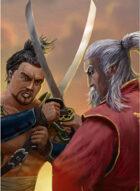 Thunderegg Stock Art: Samurai Duel
