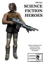 Science Fiction Heroes Set