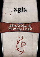 Shadow of the Demon Lord: Carte Magia ARIA