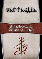 Shadow of the Demon Lord: Carte Magia BATTAGLIA