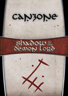 Shadow of the Demon Lord: Carte Magia CANZONE