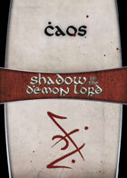 Shadow of the Demon Lord: Carte Magia CAOS