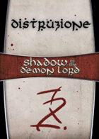 Shadow of the Demon Lord: Carte Magia DISTRUZIONE
