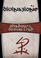Shadow of the Demon Lord: Carte Magia DIVINAZIONE