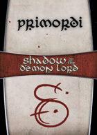 Shadow of the Demon Lord: Carte Magia PRIMORDI