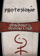 Shadow of the Demon Lord: Carte Magia PROTEZIONE