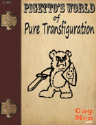 Pigetto's World of Pure Transfiguration