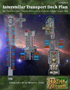 Interstellar Cargo Transport Ship Deck Plans