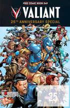 Valiant 25th Anniversary 2015 FCBD Special