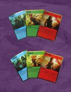 Karacterz - Target Cards (3-4 Players)