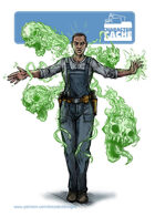 Character Cache - Macy Drapes  - The Medium Mechanic
