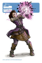 Character Cache - Marla Scorch