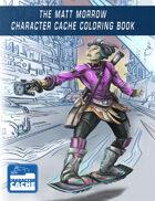 The Matt Morrow Character Cache Coloring Book