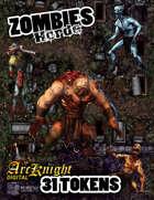 Arcknight Tokens: Zombies Horde
