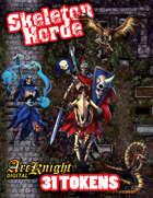 Arcknight Tokens: Skeleton Horde