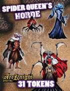 Arcknight Tokens: Spider Queen's Horde