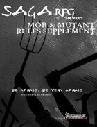 01Rule01 - SagaRPG - Rules Supplement: Mob & Mutant