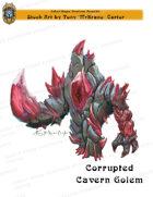 CSC Stock Art Presents: Corrupted Cavern Golem