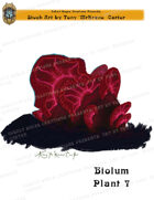 CSC Stock Art Presents: Bioluminescent Plant 7