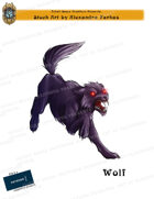 CSC Stock Art Presents: Attacking Wolf