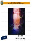 CSC Stock Art Presents: Scifi Alleyway